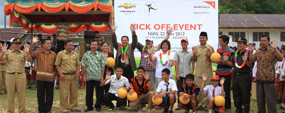 One World Futbol Launch, Sumatera Utara