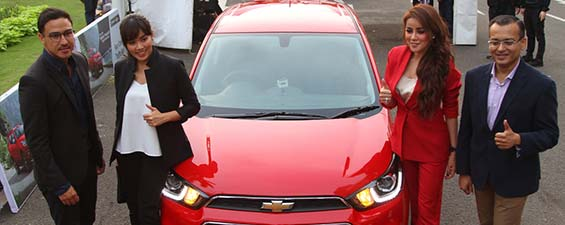 The All New Chevrolet Spark Diluncurkan di Indonesia