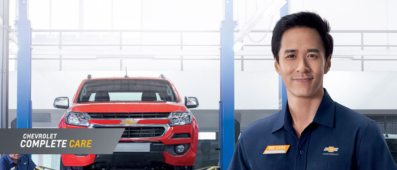 Layanan Purna Jual Complete Care Chevrolet Indonesia