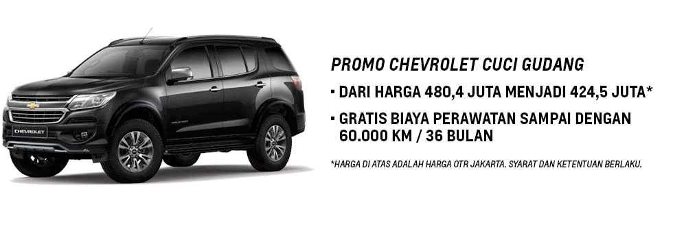 Promo Chevrolet Trailblazer
