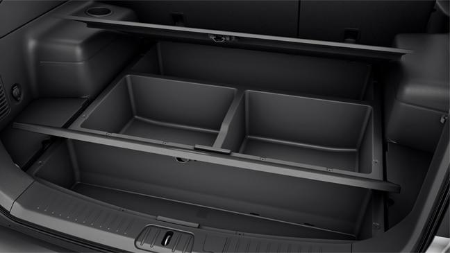 Ruang Bagasi Chevrolet Captiva Luas dan Fungsional