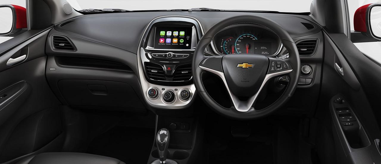 chevrolet spark 2017 mobil city car hatchback irit bbm