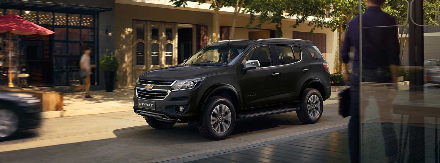 Eksterior Chevrolet Trailblazer Samping