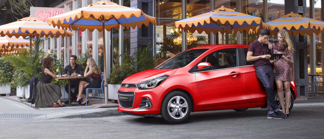Eksterior Chevrolet Spark Outdoor